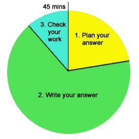 Explain pie chart essay